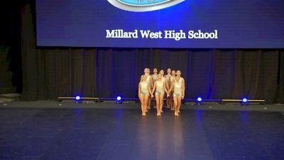 Millard West High School [2020 Small Jazz Semis] 2020 UDA National Dance Team Championship