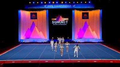 Galaxy Allstars - Xrays [2021 L5 Senior Open Coed Finals] 2021 The D2 Summit