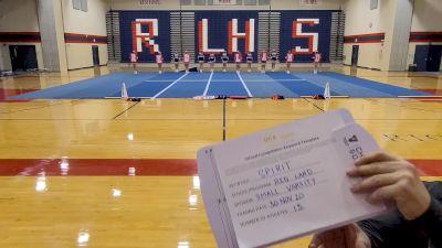 Red Land High School [Small Varsity] 2020 UCA Allegheny Virtual Regional