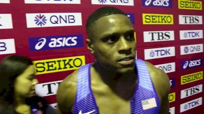 Christian Coleman Thinks 4x1 Can Improve Handoffs, Has Kept A Low Profile Since 100m Title