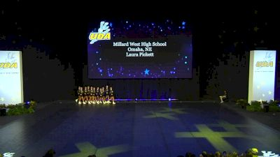Millard West High School [2020 Small Hip Hop Prelims] 2020 UDA National Dance Team Championship