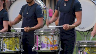 In The Lot: Blue Stars 2021 Drumline