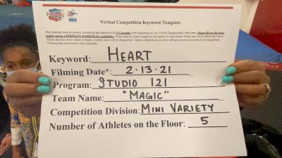 Studio 121 [Mini - Variety] 2021 NCA & NDA Virtual February Championship