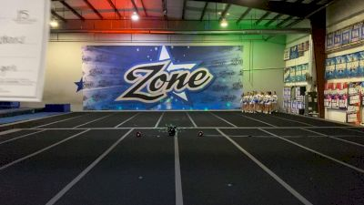 Zone Cheer - Lady Liberty [L6 Senior - Xsmall] 2021 NCA All-Star Virtual National Championship