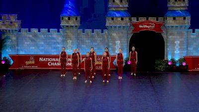 Hamilton High School - Pomline [2021 Small Varsity Jazz Finals] 2021 UDA National Dance Team Championship