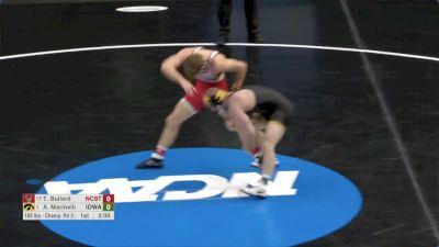 165 R16, Alex Marinelli, Iowa vs Thomas Bullard, NCST