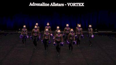 Adrenaline Allstars - VORTEX [2021 Junior Pom Semis] 2021 The Dance Summit