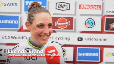 Lucinda Brand: 'It Was A Big Fight To Be First Down Factory Hill'