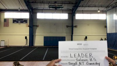 Salmen High School [Game Day Varsity NonTumble] 2020 UCA Louisiana Virtual Regional