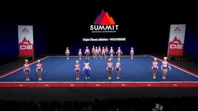 Triple Threat Athletics - WOLVERINE [2021 L2 Senior - Small Wild Card] 2021 The D2 Summit