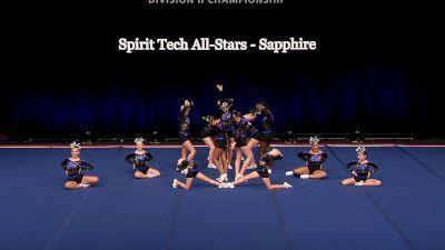 Spirit Tech All-Stars - Sapphire [2021 L1 Junior - Small Semis] 2021 The D2 Summit