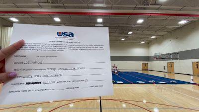 Orange Lutheran High School [Varsity Show Cheer Novice Finals] 2021 USA Spirit & Dance Virtual National Championships