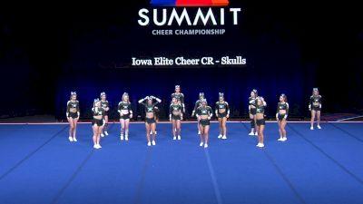 Iowa Elite Cheer CR - Skulls [2021 L4 Senior - Small Semis] 2021 The Summit