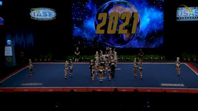 The California All Stars - Las Vegas - Aces [2021 L6 Senior Open Small Coed Finals] 2021 The Cheerleading Worlds