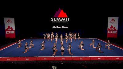 All 4 Cheer - Phoenix [2021 L4.2 Senior - Medium Finals] 2021 The D2 Summit