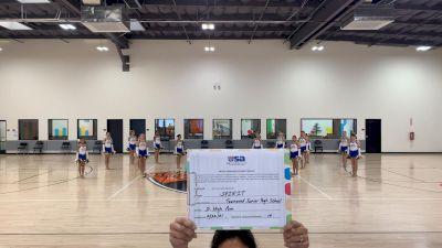 Townsend JH School [Junior High - Song/Pom] 2021 USA Virtual Spirit Regional #3