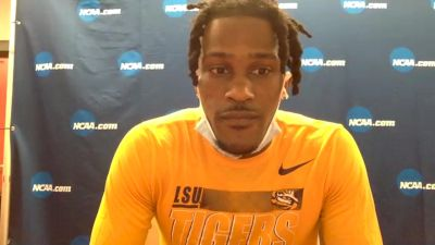 LSU's Damion Thomas Wins 60H