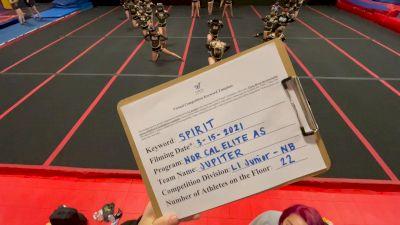 Nor Cal Elite All Stars - Jupiter [L1 Junior - Non-Building] 2021 PacWest Virtual Championship