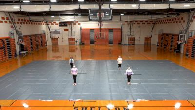 Shelton High School Winterguard- Out With A Bang!