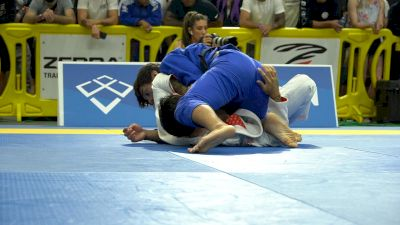 Cisneros Collects A Step-Over Collar Choke