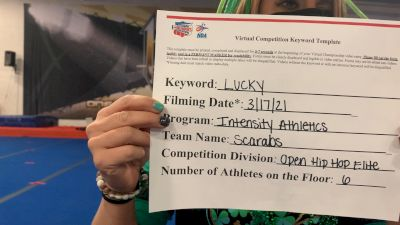 Intensity Athletics - Scarabs [Open - Hip Hop] 2021 NCA & NDA Virtual March Championship