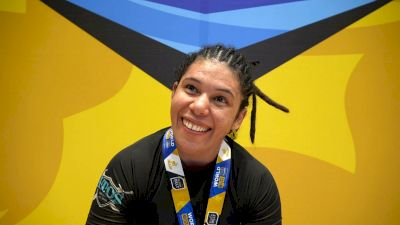 Rafalea Guedes Takes Double Gold At No-Gi Worlds