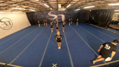 San Antonio Spirit - Team Silver [L5 Junior Coed - D2 - Small] 2021 NCA All-Star Virtual National Championship
