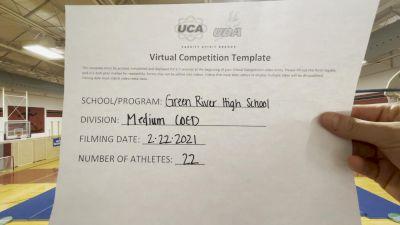 Green River High School [Medium Varsity Coed] 2021 UCA February Virtual Challenge