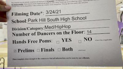 Park Hill South High School [Virtual Medium Varsity - Hip Hop Prelims] 2021 NDA High School National Championship