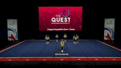 Cougars Competitive Cheer - Pumas [2021 L1 Performance Rec - 12Y (NON) - Small Semis] 2021 The Quest