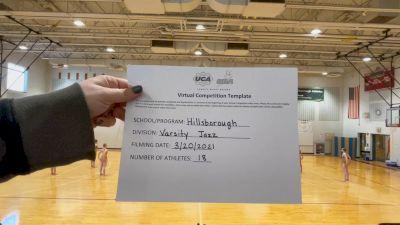 Hillsborough High School [Large Varsity - Jazz] 2021 UCA & UDA March Virtual Challenge