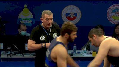 125 kg Glod Medla Match, Sergey Kozyrev vs Azamat Tebloev