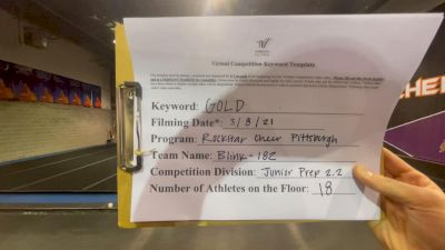 Rockstar Cheer Pittsburgh [L2.2 Junior - PREP] 2021 Varsity Virtual Competition Series - Prep & Novice I