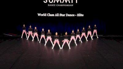 World Class All Star Dance - Elite [2021 Junior Hip Hop - Small Semis] 2021 The Dance Summit