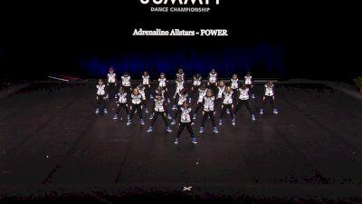 Adrenaline Allstars - POWER [2021 Mini Coed Hip Hop Finals] 2021 The Dance Summit