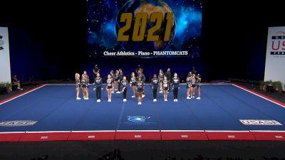 Cheer Athletics - Plano - PHANTOMCATS [2021 L6 International Open Coed Non Tumbling Finals] 2021 The Cheerleading Worlds