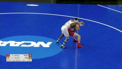 157 Consi-Semi, Hayden Hidlay, NCST vs Jacori Teemer, Arizona State