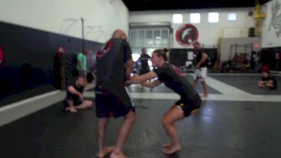 Roberto 'Cyborg' Abreu & Maggie Grindatti Roll At Fight Sports HQ