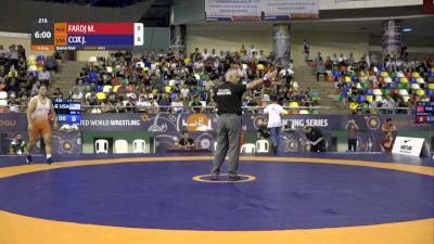 92 kg Quarterfinal: J'Den Cox, USA vs Mohammed Fardj Algeria