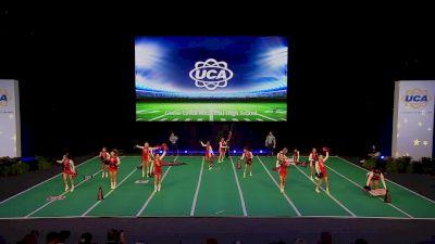 Goose Creek Memorial High School [2020 Medium Game Day Division I Semis] 2020 UCA National High School Cheerleading Championship