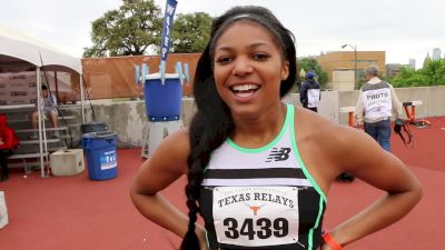 Gabby Thomas Is Having A Smooth Transition To Professional Running