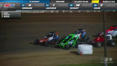 Highlights   USAC Sprint Cars at 34 Raceway