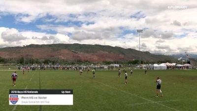 Boys HS Nationals Xavier vs Penn