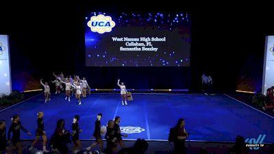 West Nassau High School [2019 Medium Varsity Non Tumbling Prelims] 2019 UCA National High School Cheerleading Championship