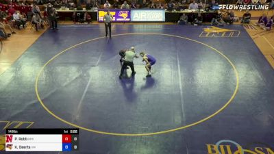 Peyton Robb (Nebraska) vs Keaton Geerts (Northern Iowa)