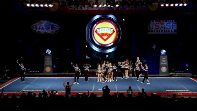The California All Stars - San Marcos - Rangers [2019 L6 International Open Large Coed Semis] 2019 The Cheerleading Worlds