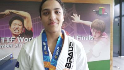 Thamara Ferreira Shows She's Ready For First Year As Black Belt With Euro Gold