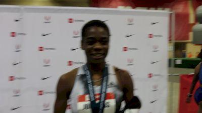 Wadeline Jonathas Wins First U.S. 400m Title