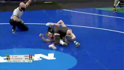 125 lbs, Spencer Lee, Iowa vs Killian Cardinale, West Virginia