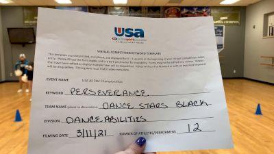 Peak Athletics - Dance Stars Black [DanceAbilities] 2021 USA All Star Virtual Championships